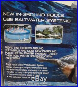 INTEX Krystal CRYSTAL CLEAR SALTWATER SYSTEM, ABOVE GROUND POOLS UP TO 15000 GAL
