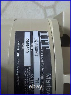 ITT Marlow Argonaut Swimming Pool Pump 1 HP 240/120 Motor and Housing
