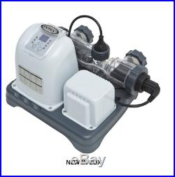 InTex 120V Krystal Clear Saltwater System CG-28663, SKU 28663EG NEW FREE SHIPP