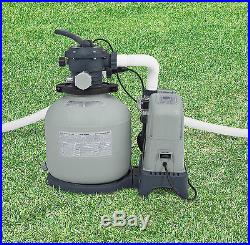 Intex 1600 Gph Saltwater System Amp Sand Filter Pump