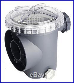 Intex 1600 GPH Saltwater System & Sand Filter Pump Swimming Pool Set 56677EG