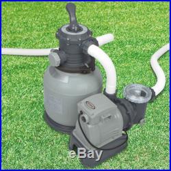 Intex 2100 GPH Krystal Clear Swimming Pool Sand Filter Pump 28645EG