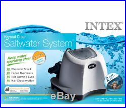 Intex 26667EG 7000-Gallon 110-120V Krystal Clear Saltwater System