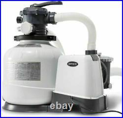 Intex 26680 Chlorine Generator Salt Water CHLORINATOR Sand Filter Pump 2650 GPH