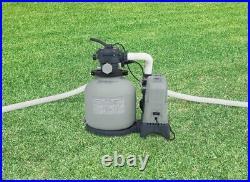 Intex 28675EG Krystal Clear Sand Filter Saltwater System (8500 Gallons)