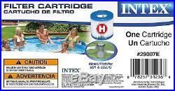 Intex 29007E Swimming Pool Easy Set Filter Cartridge Type H (6-Pack)