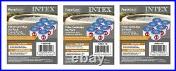 Intex 29011E Type S1 PureSpa Easy Set Pool Spa Hot Tub Filter Replacement Cartri