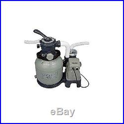 Intex 2,100 GPH Sand Filter Pump Pool