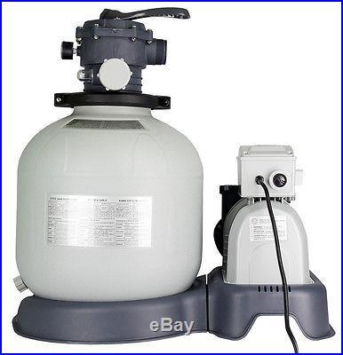 Intex 56681EG 120V Sand Filter Pump & Saltwater System