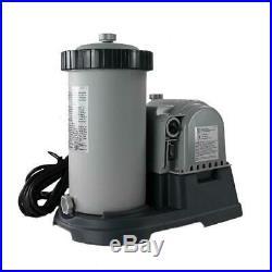 Intex Krystal Clear 2500 GPH Swimming Pool Filter Cartridge Pump With Timer