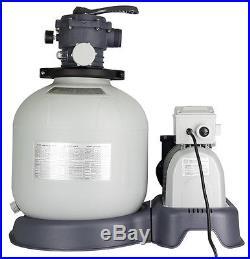 Intex Krystal Clear 3000 GPH Above Ground Pool Sand Filter Pump 28651EG