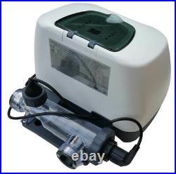 Intex Krystal Clear Ozone & Saltwater System. Pool Chlorine Generator 15000 GAL