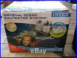 Intex Krystal Clear Saltwater Pool Filter #54601EG