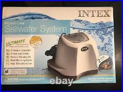 Intex Krystal Clear Saltwater System7000 Gallon Above Ground Pool #26667eg