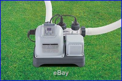 Intex Krystal Clear Saltwater System Chlorinator w/GFCI Model 54605EG New