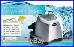 Intex Krystal Clear Saltwater System Chlorinator withGFCI Model 26667EG upto 7000g