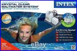 Intex Krystal Clear Saltwater System Pool Chlorinator 28669EG