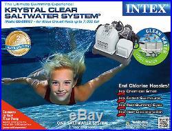 Intex Krystal Clear Saltwater System Swimming Pool Chlorinator 28667EG