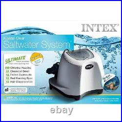 Intex Krystal Clear Saltwater System for 7000 Gallon Above Ground Pool (Used)