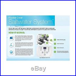 Intex Krystal Clear Saltwater System with E. C. O. (Electrocatalytic Oxidation)