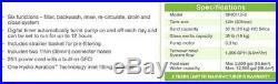 Intex Krystal Clear Sand Filter Pump, Above Ground Pools 12-inch 110-120V GFCI