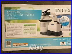 Intex Krystal Clear Sand filter Pump for Above Ground Pool sf90110-1