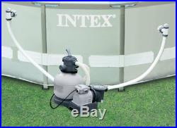 Intex Krystal Clear Swimming Pool Saltwater System & 2800 GPH Sand Filter Pump