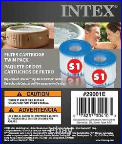 Intex PureSpa Type S1 Easy Set Pool Filter Replacement Cartridges (8 Filters)
