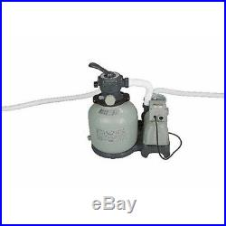 Intex Sand Filter Pump System Above Ground Swimming Pool Outdoor Water Cleaner