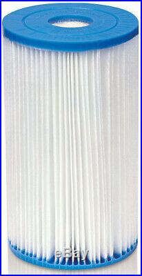 Intex Swimming Pool Type B Filter Cartridge 29005E Case Of 6 Filters Dacron