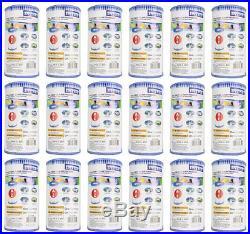 Intex Type A Easy Set Pool Filter Cartridge (18-Pack) 29000E (59900E)
