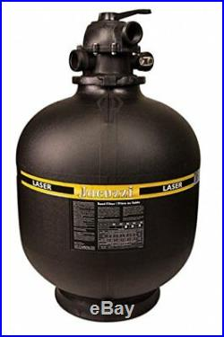 Jacuzzi Laser 19 Inch Above Ground Swimming Pool Sand Filter with7-Way Valve
