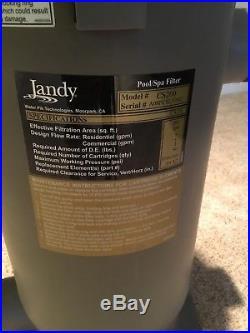 Jandy CS 200 Pool/Spa Filter
