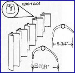 Jandy DEV48 / DEL48 Sq Ft DE Filter Grids Unicel Complete Set of 8 Grids