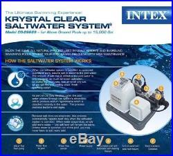 Krystal Clear Saltwater System- Above Ground (15,000 Gal) CG-28669