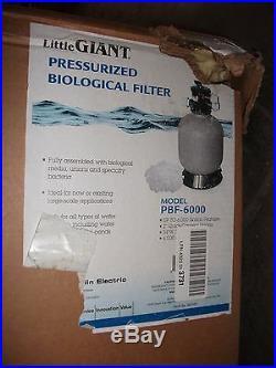 Little Giant PBF6000 Pressurized Biological Filter
