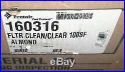 NEW 100 SF Pentair Purex Triton Clean Clear CC100 In Ground Pool Filter 160316