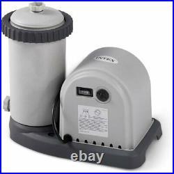 NEW Intex 1500 GPH Krystal Clear Cartridge Filter Pump for Above Ground Pool