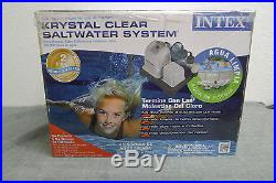 NEW Intex Deluxe Saltwater Pool System Chlorine Generator 28663EG NIB $$