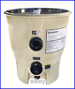 NEW PENTAIR 178578 CLEAN & CLEAR PLUS FILTER TANK BOTTOM AFTER 98 ALMOND