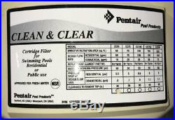 NEW Pentair Clean And Clear 50 Cartridge Filter 160314 (50SF)