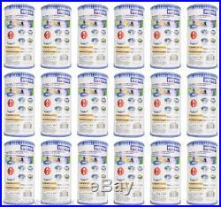 New (18) Intex Pool Pump Filter Cartridges 29000E Type A Cartridge Filters