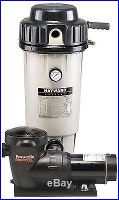 New Hayward EC50C93S Perflex Extended-Cycled 1.5 HP D. E. Pool Filter System