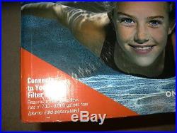 New Intex Krystal Clear Saltwater System salt water clean CG 28669 no warranty