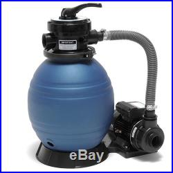 Oceania 1/3 HP C740010 Above Ground Pool 12 Sand Filter & Pump System