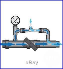 Ozone & UV-C (Ultra-violet) Salt Water Swimming Pool Purifier Sterilizer Unit