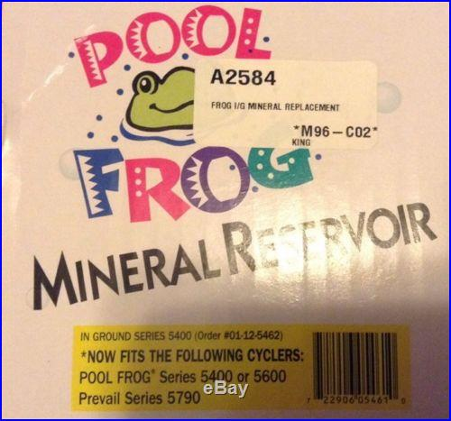 POOL FROG MINERAL RESERVOIR AND BAC PAC 4 PACK
