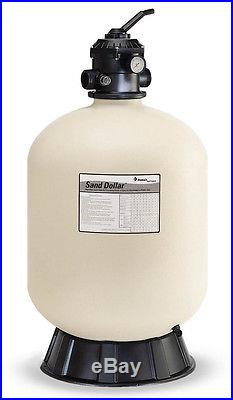 Pentair 145322 SD60 GPM Sand Dollar Top Mount Swimming Pool Filter 2.3 Sq Ft