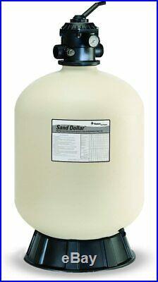 Pentair 145322 Sand Dollar Top-Mount Pool Filter, 60-GPM Flow