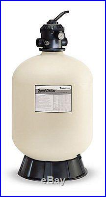 Pentair 145333 SD80 SAND DOLLAR SWIMMING POOL FILTER SAND 26With1.5TOPMT D/V